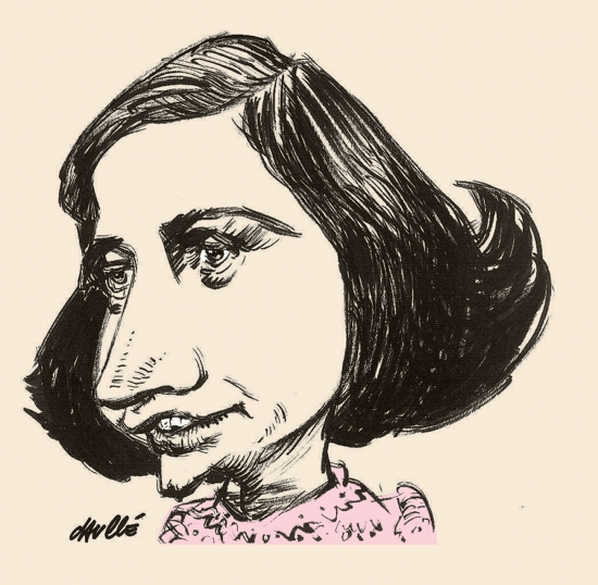 Anne Frank por daulle